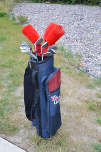 Women's Lady COMPLETE beginner golf club set ** Right Hand