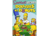 NEW Dollars to Donuts (Simpsons Comics), Matt Groening HARDCOVER/BACK