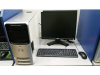 Dell Dimension with 19'' monitor, Intel Core 2 DUO 2.40 GHz, 4GB RAM, 500GB HDD, NVIDIA, Windows 7