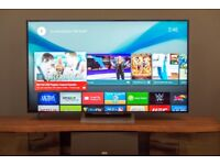"""55"""" Sony 4K ultra HD LED Android smart WiFi freeview built in"""