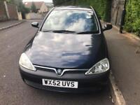 Vauxhall Corsa 1.2 5-dr Blue Short MOT needs rear EXHAUST BOX £450