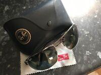 Original men's Ray Ban sunglasses.
