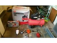 50 litre air compressor