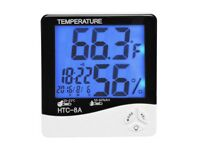 Humidity Hygrometer Thermometer with Night Vision / Alarm Clock Bromley, London