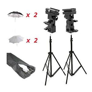 camera flash stands and umbrellas!!!