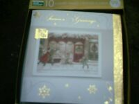 2 boxes of 10 luxury xmas cards