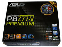 ASUS P8Z77-V PREMIUM INTEL SOCKET 1155 FLAGSHIP MOTHERBOARD SSD WIFI BLUETOOTH