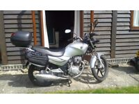 SYM XS 125 Learner Legal Motorcycle
