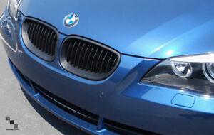 03-09 BMW E60 E61 5 SERIES MATTE BLACK GRILLE