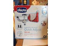 Chicco table seat, high chair clamp on £30