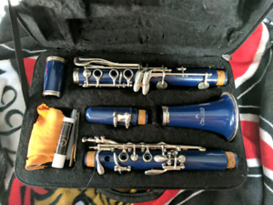 Blue Clarinet for sale