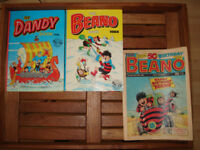 1988 special edition 50th Anniversary Beano, Dandy Books and Beano comic