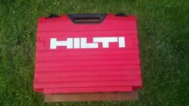 HILTI DX460 with MX72 magazine and box