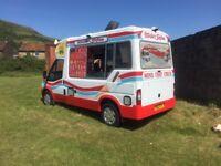 ice cream van driver