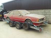 WANTED BMW 635 CSI PROJECT CAR BARN FIND or possibly other old Bmw's