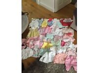 Newborn girls bundle