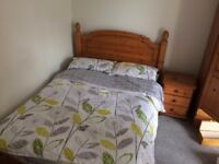 WOODEN DOUBLE SIZED BED