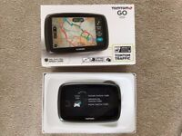 TomTom Go 500 European Sat nav, with lifetime maps.