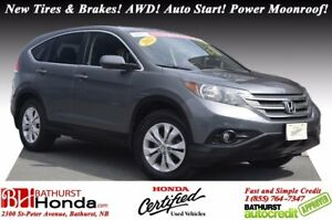 2012 Honda CR-V EX - AWD New Tires & Brakes! AWD! Auto Start! Po