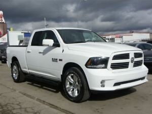 2015 Ram 1500 Sport 4X4|B.CAMERA|LEATHER|ONLY 19,000KMS!