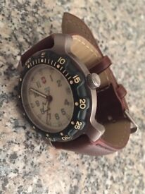 Mens swiss army watch(diver)