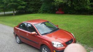 Kia Rio Sedan looking for quick sale new suv coming