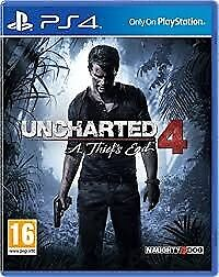 UNCHARTED 4 PS4 BRAND NEW WITH BONUS DLC