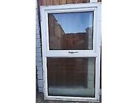 2X PVC WINDOW WITH GLASS **£30 each**