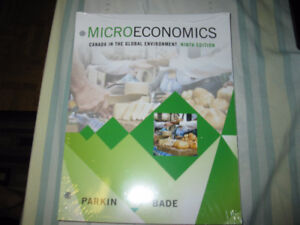 BRAND NEW MICROECONOMICS 9TH EDITION BY PARKIN & BADE