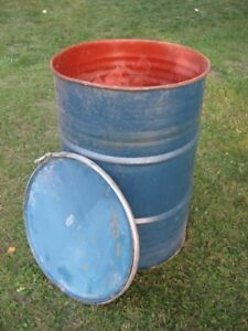 50 GALLON STEEL DRUM/ BARREL