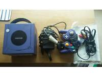Nintendo Game Cube Boxed with 6 games (INCLUDING SMASH BROS, SUNSHINE AND METROID)