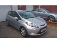 2010 FORD FIESTA 1.25 EDGE, LONG MOT, FORD HISTORY, 81K, 3 MONTH WARRANTY, SUPERB EXAMPLE!