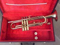 Vintage Corton trumpet and case