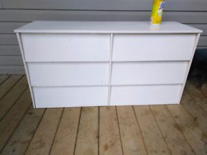 MCM style painted dresser
