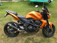 2010 Kawasaki Z750, Metalic Orange