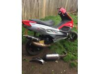 Gilera runner 172 reg as a 125! 2stroke moped fast!!