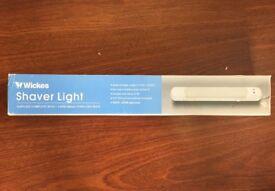 Bathroom shaver light