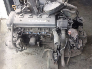 1997 Toyota Corolla Engine and Transmission for Sale