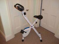 Davina Mcall Folding Magnetic Exercise Bike