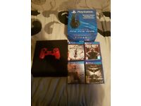 Playstation 4 bundle all in perfect condition