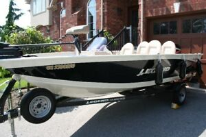 LEGEND XGS BOAT for fishing and pleasure.