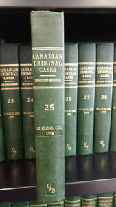 Canadian Criminal Cases, 2nd Series Volumes 1-70