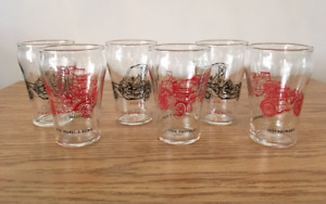 CUTE LITTLE SET OF AUTO COLLECTIBLE JUICE GLASSES!!