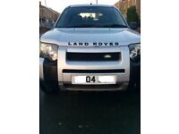 Land Rover Freelander 2.0 diesel automatic 5 door will p/ex for larger vehicle or offers, new MOT