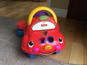 Trotteur 2 en 1 Fisher Price