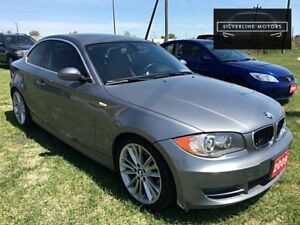 2009 BMW 128i RED LEATHER-PADDLE SHIFT-SPORT-CALL-204-509-0008