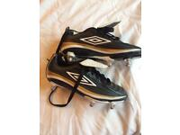 Umbro studded football boots size 3 NEW