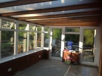 8xConservatory roof blinds. Each Approx 3m20 by 0.73m.