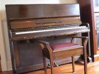 B Squire Piano 1960's