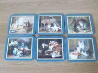 6 Jason Cat Coasters